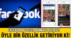 Facebook'tan bomba uygulama!