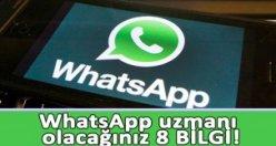 Whatsapp'ın gizli kalan özellikleri
