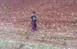 Türk askerinin Suriye'de gönülleri fethettiği an..