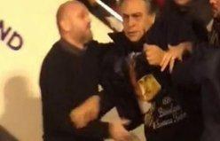 Barbaros Şansal uçaktan iner inmez saldırıya uğradı