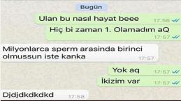 En Komik Whatsapp Yazışmaları