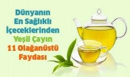 Yeşil Çayın 11 Olağanüstü Faydası