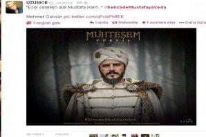 Twitter'da Şehzade Mustafa'nın ölümü - Caps