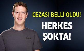 Facebook'a büyük ceza!
