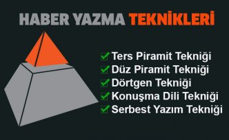 Piramit Haber Yazma Teknikleri
