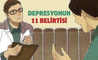 Depresyonun 11 Belirtisi