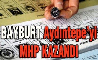 Bayburt Aydıntepe'yi MHP aldı
