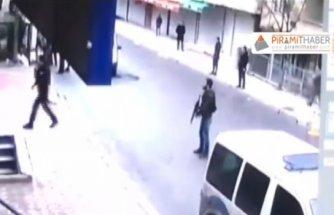 İstanbul Esenyurt'ta polise saldırı..