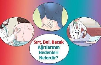 Sırt Bel ve Bacak Ağrılarının Nedenleri Nelerdir?