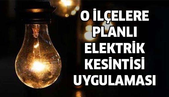 Planlı Elektrik Kesintisi İçin Uyarı !