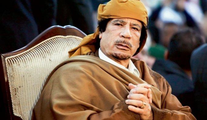 Kaddafi'nin malvarlığını tazminat olarak istediler