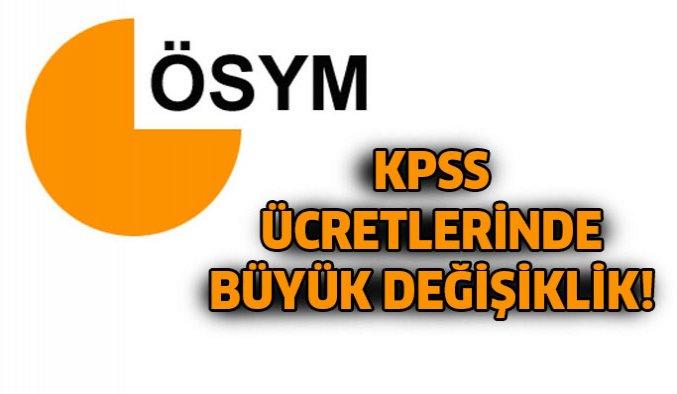 KPSS için ÖSYM'den flaş karar!