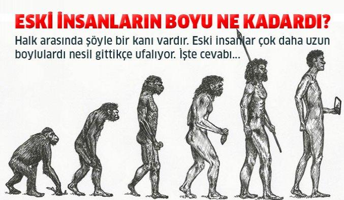 Eski İnsanların Boyu Ne Kadardı?
