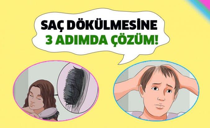 Saç Dökülmesine Kesin Çözüm!