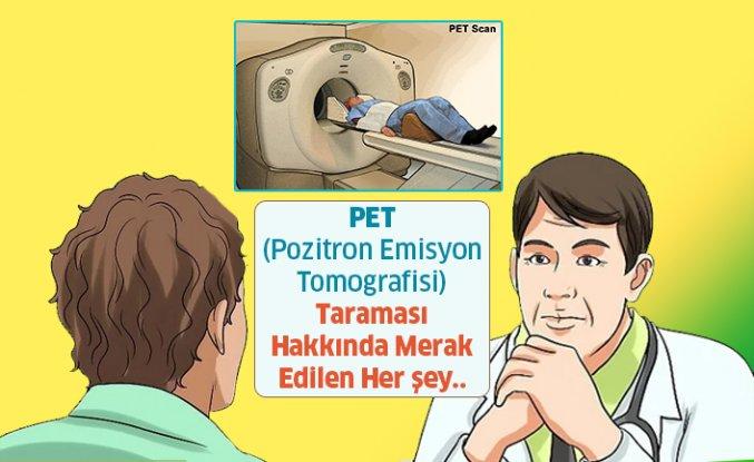 Akciğer PET - Pozitron Emisyon Tomografisi Taraması