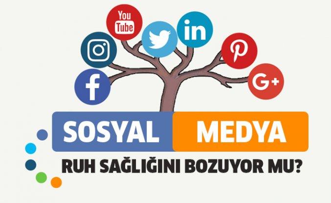 Sosyal Medya Ruh Sağlığını Bozuyor mu?