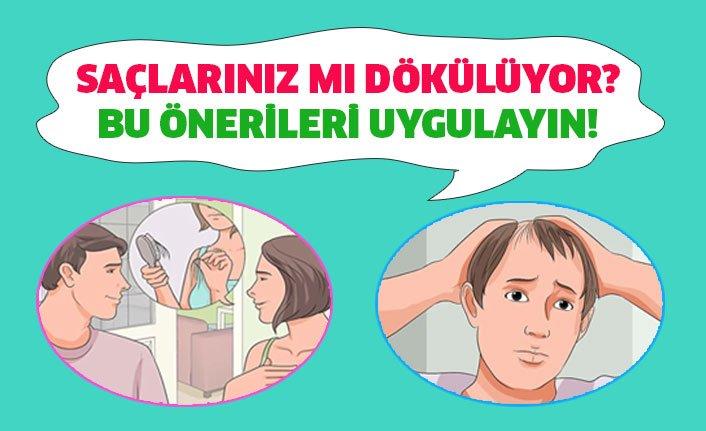 Saç Dökülmesinin En Önemli Nedenleri!