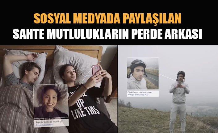 Sosyal medyada hayatı yaşamak ve perde arkası