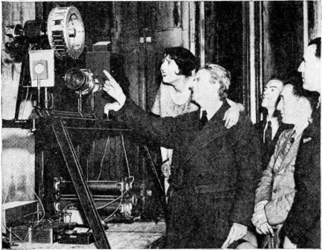 Baird mekanik televizyon sistemini New York'ta gösterdi, 1931