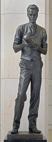 Philo T. Farnsworth içinde Milli Statuary Hall Collection , ABD Capitol, Washington, DC