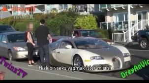 'Bugatti Veyron'un kadınlar üzerindeki etkisi