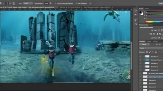 Photoshop ile Su Altında Bir Şehir Yaratmak!