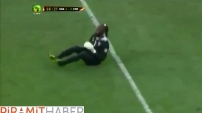 Afrikalı Kalecinin İlginç Gol Sevinci